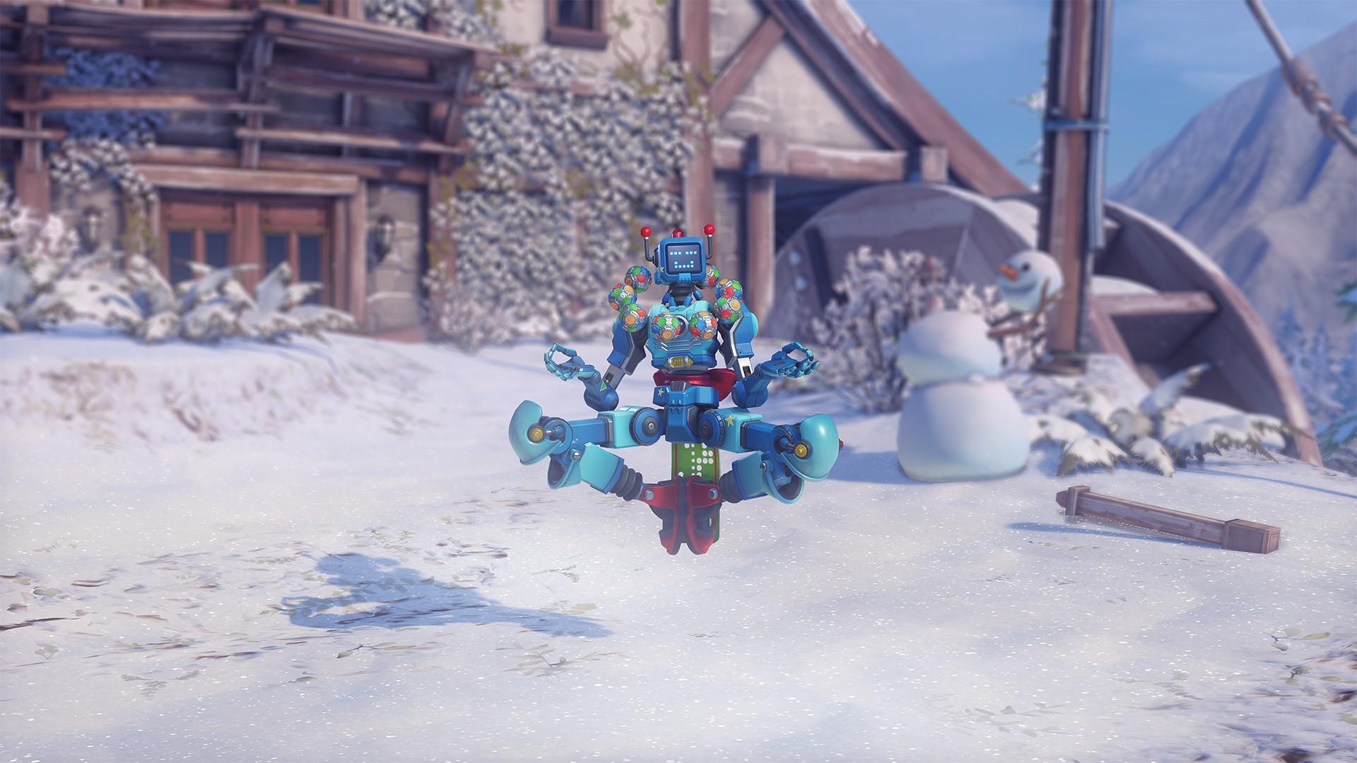 В Overwatch стартовало событие «Зимняя сказка» 2