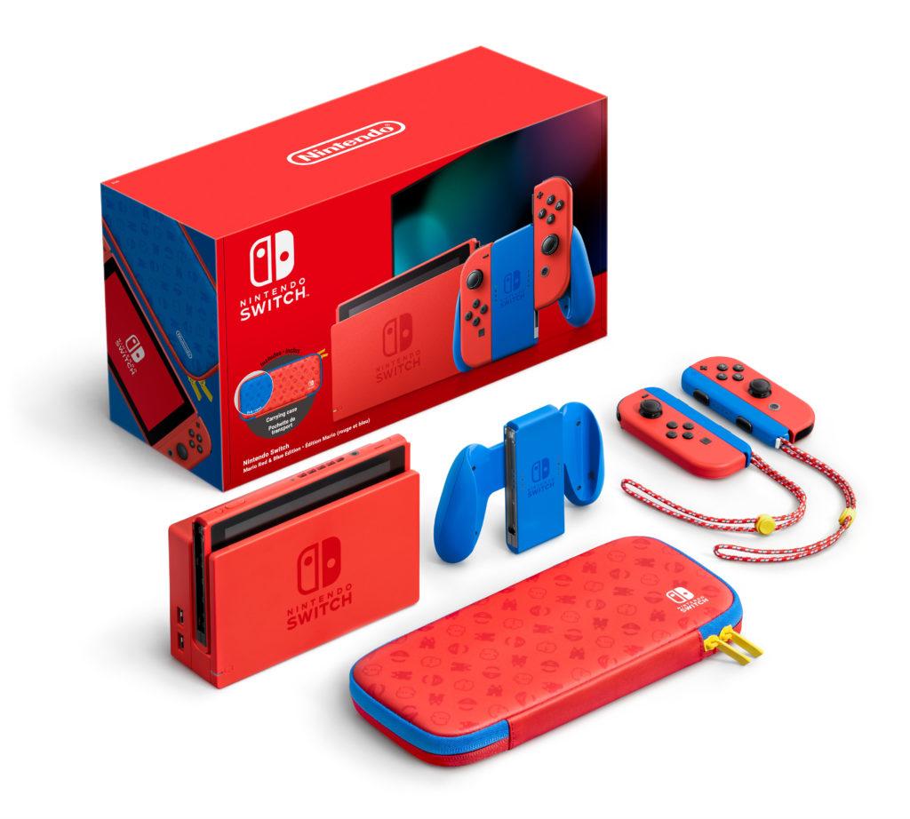 Nintendo анонсировала Nintendo Switch - издание Марио 1