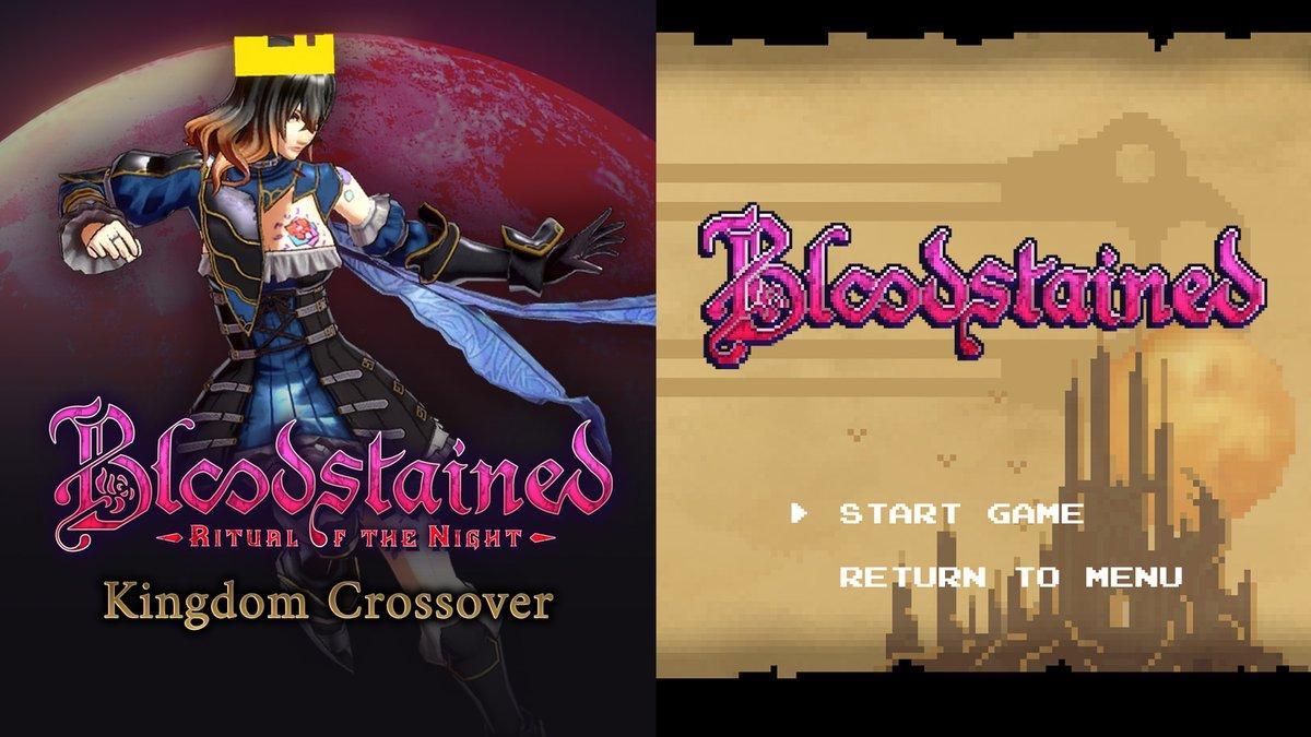 Bloodstained: Ritual of the Night получила обновление 1.20 - в игру добавили классический режим и запустили кроссовер с Kingdom Two Crowns 2