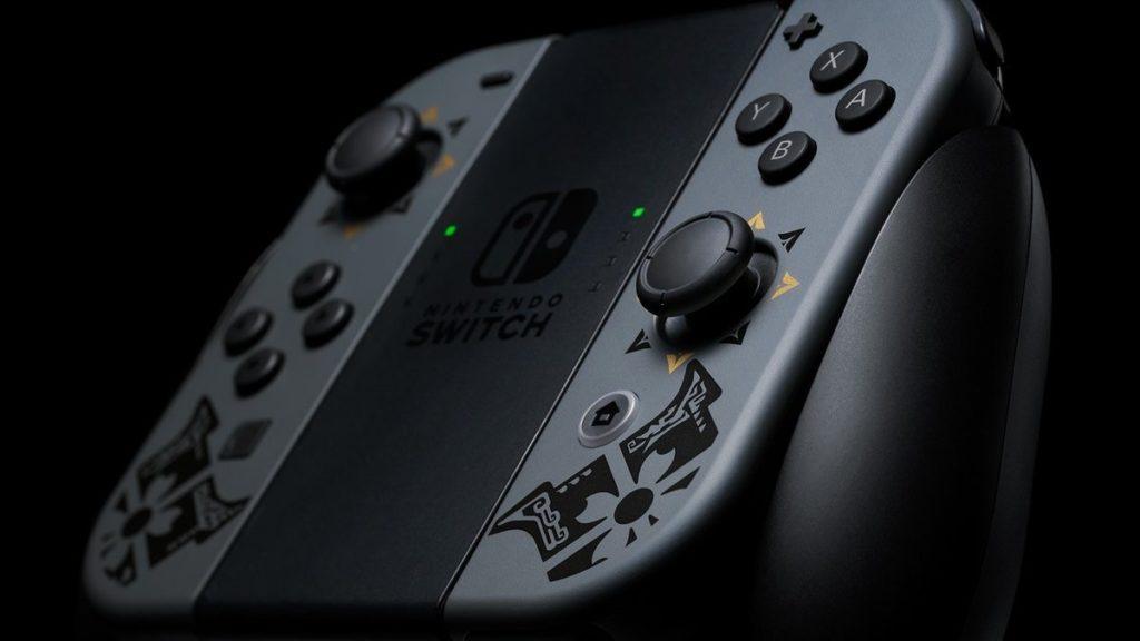Nintendo анонсировала стилизованный бандл Nintendo Switch с Monster Hunter Rise 3
