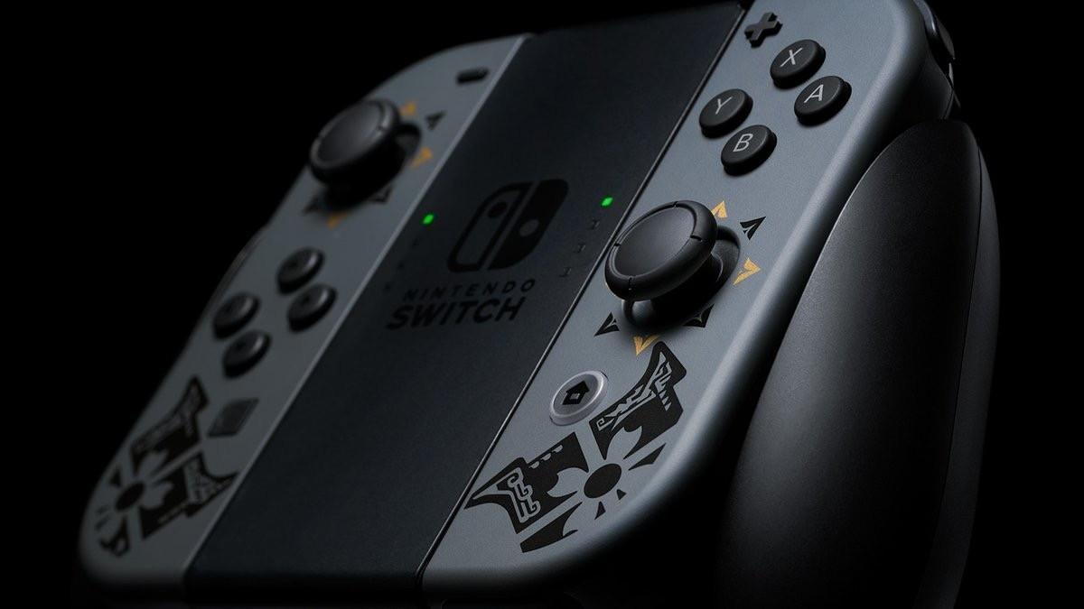 Nintendo анонсировала стилизованный бандл Nintendo Switch с Monster Hunter Rise 6