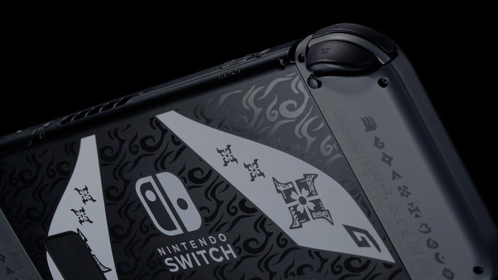 Nintendo анонсировала стилизованный бандл Nintendo Switch с Monster Hunter Rise 4