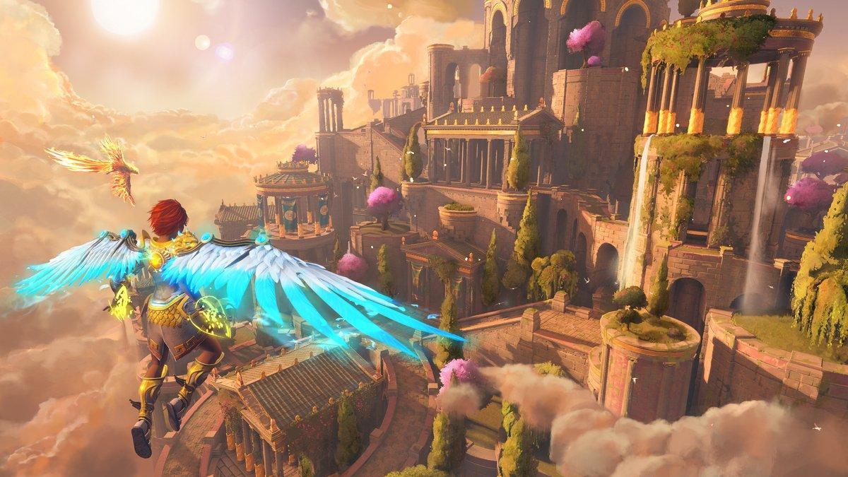 Immortals Fenyx Rising получила обновление 1.1.0 - улучшения, исправления и доступ к DLC «Новый Бог» 2
