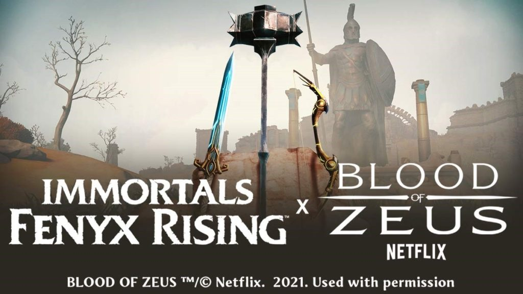 "Ubisoft анонсировала кроссовер Immortals Fenyx Rising с анимационным сериалом от Netflix ""Blood of Zeus"" 1"