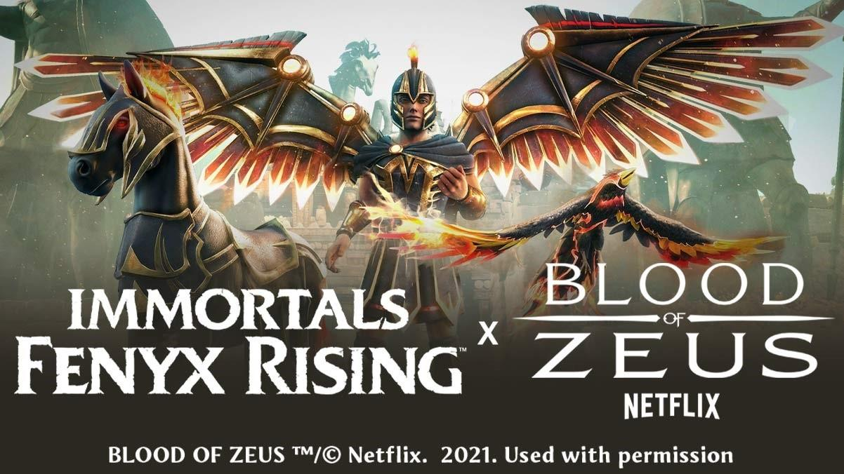 "Ubisoft анонсировала кроссовер Immortals Fenyx Rising с анимационным сериалом от Netflix ""Blood of Zeus"" 3"