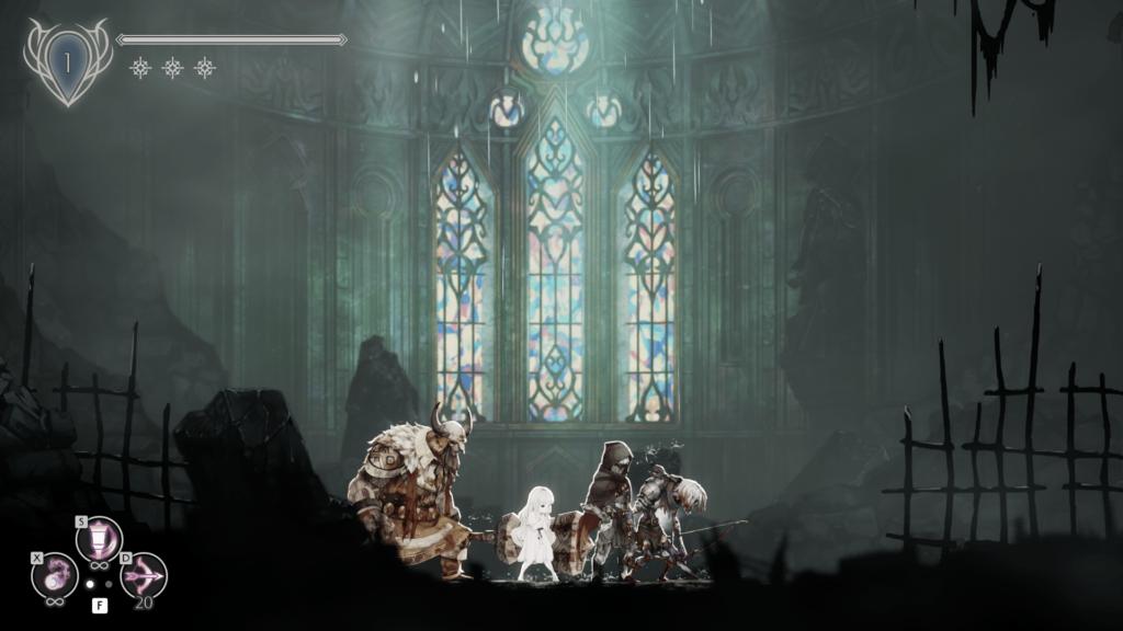 Анонс и свежий геймплей метроидвании Ender Lilies: Quietus of the Knights 4