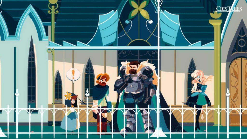 Cris Tales - JRPG выйдет в июле, новый трейлер 1