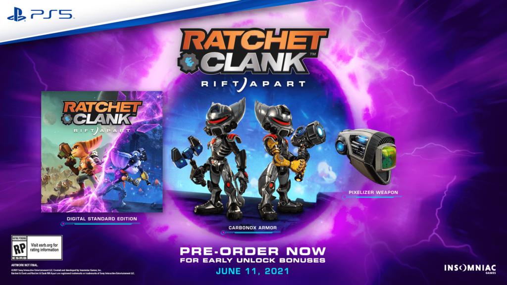 Стала известна дата выхода Ratchet & Clank: Rift Apart 1