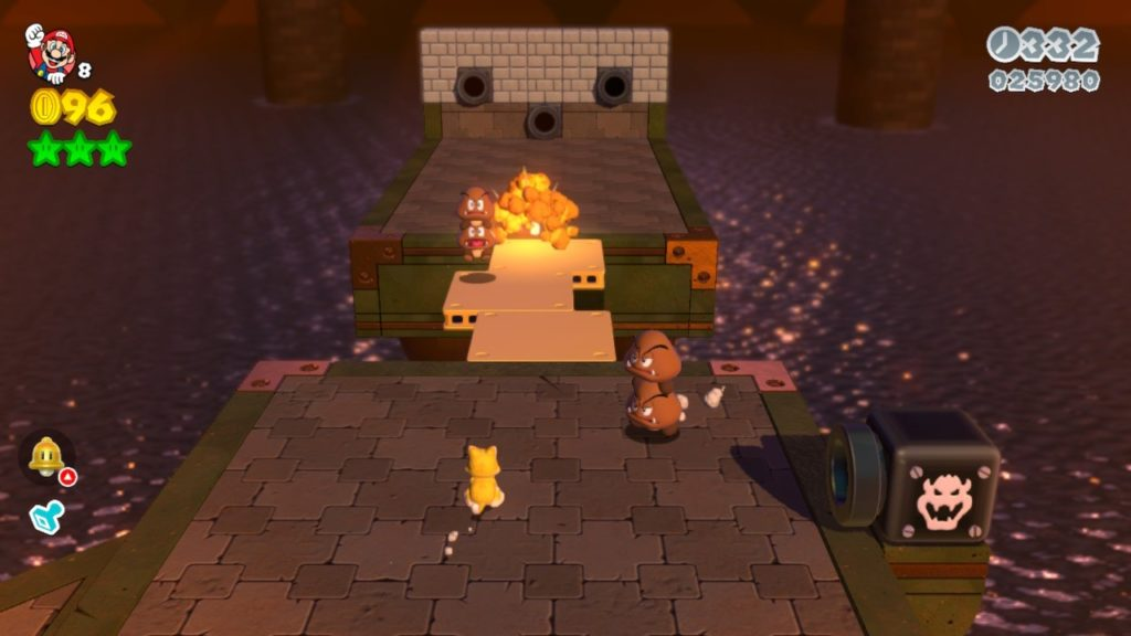 Super Mario 3D World + Bowser's Fury - Усы, лапы и хвост 18