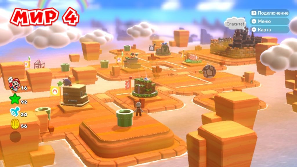 Super Mario 3D World + Bowser's Fury - Усы, лапы и хвост 7