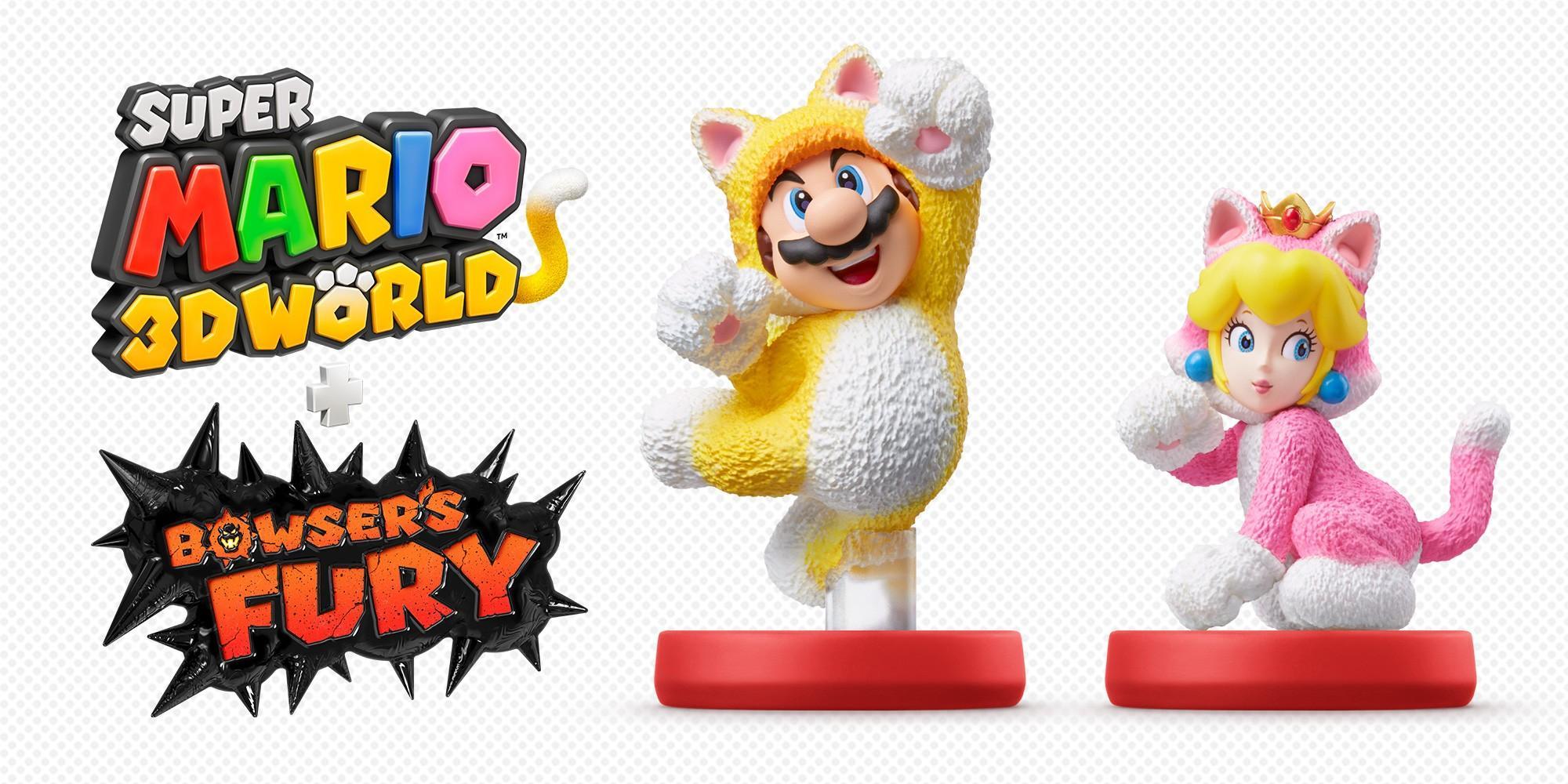 Что открывают amiibo в игре Super Mario 3D World + Bowser's Fury 3