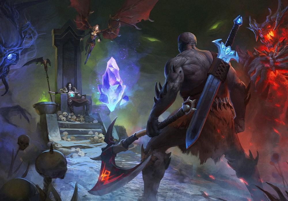 Demon Skin - Бука анонсировала отечественный souls-like hack&slash 5