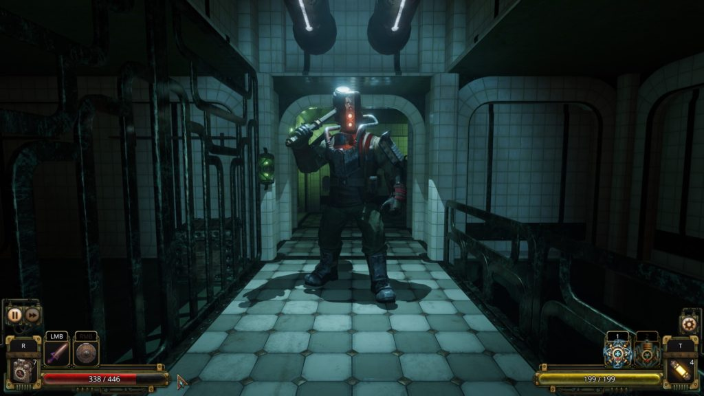 Глубины океана и таинственные исследования - стала известна дата релиза Vaporum: Lockdown для Nintendo Switch 2