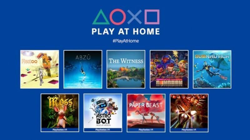 Sony объявила о планах раздать этой весной еще 10 бесплатных игр в рамках своей инициативы Play at Home 1