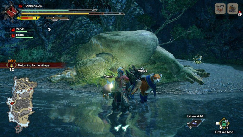 Обзор: Monster Hunter Rise - Когда меч больше экрана 15