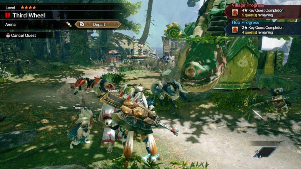 Обзор: Monster Hunter Rise - Когда меч больше экрана 4
