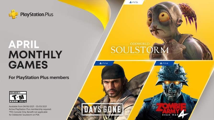 Days Gone, Oddworld: Soulstorm, Zombie Army 4: Dead War - стали известны игры апреля по подписке PS Plus 1