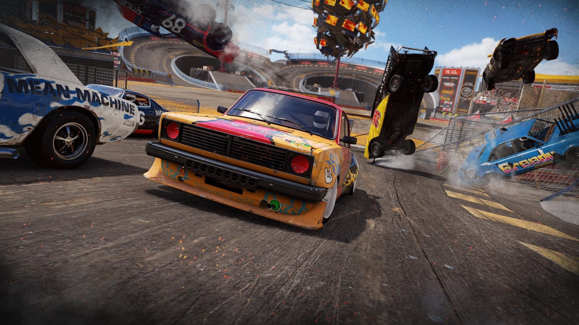 Крушилово нового поколения - Wreckfest выйдет на PS5 2