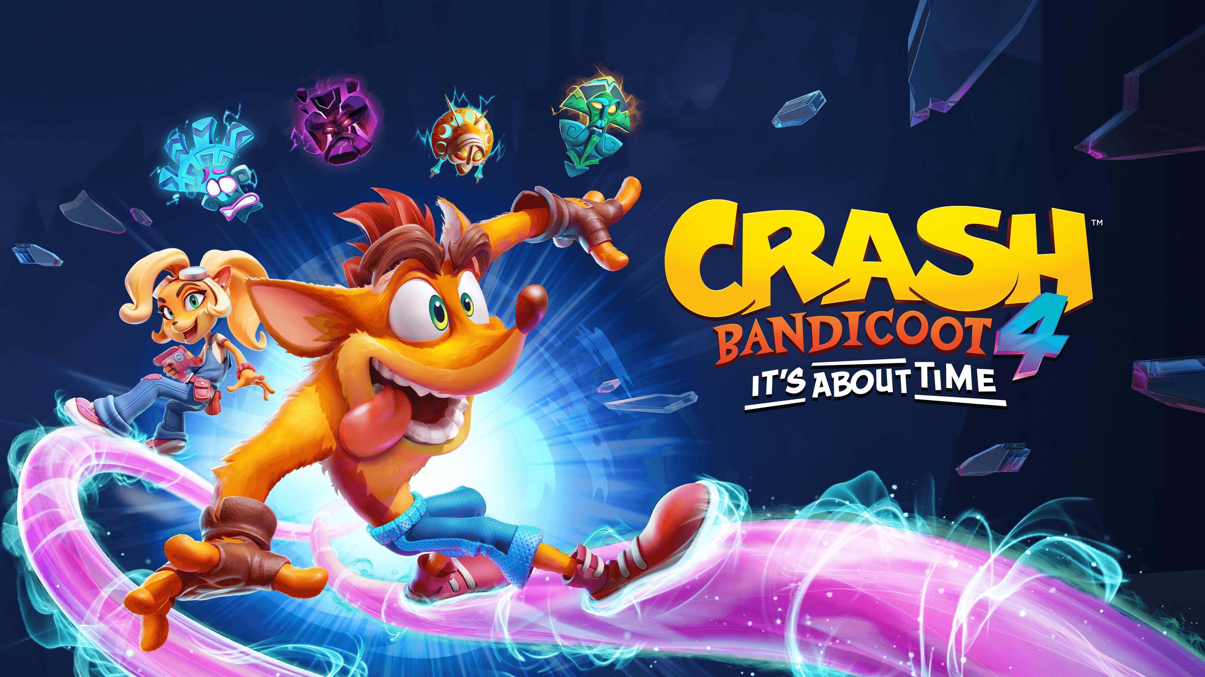 Crash Bandicoot 4: Это Вопрос Времени выходит на PlayStation 5, Xbox Series X|S и Nintendo Switch 5