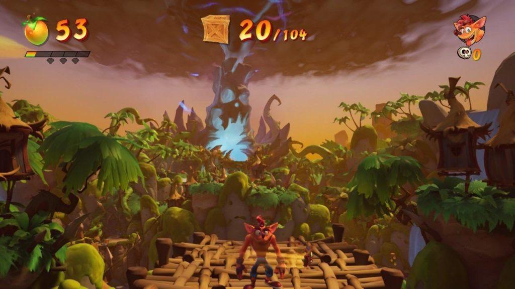 Первые скриншоты Crash Bandicoot 4: It's About Time с Nintendo Switch 2