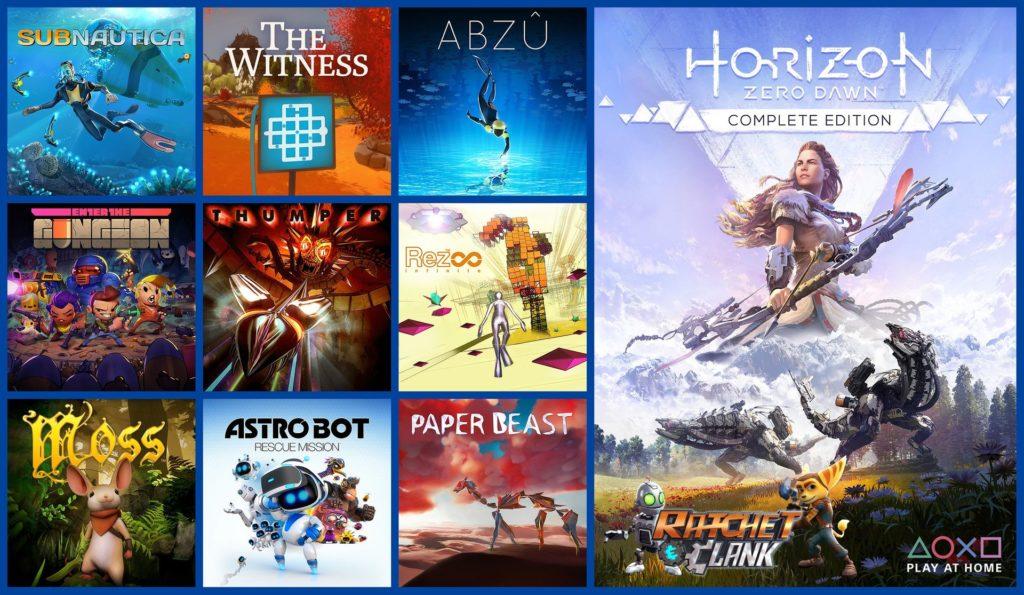 Play At Home - 9 инди-игр для PS4 и PSVR стали доступны для бесплатной загрузки 1