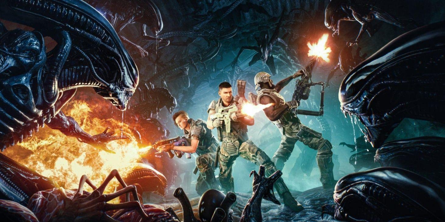 Подрывник, бегун и многие другие - виды ксеноморфов в Aliens: Fireteam 8