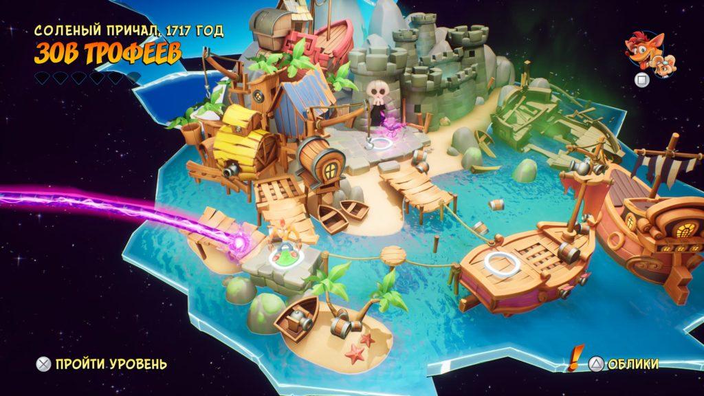 Обзор: Crash Bandicoot 4: It's About Time - Новые миры, новые горизонты 9