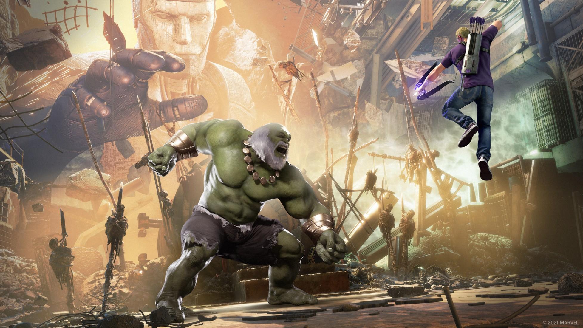 Некстген версия «Мстители Marvel» и операция «Соколиный Глаз: Не светлое Будущее» стали доступны для приобретения 2