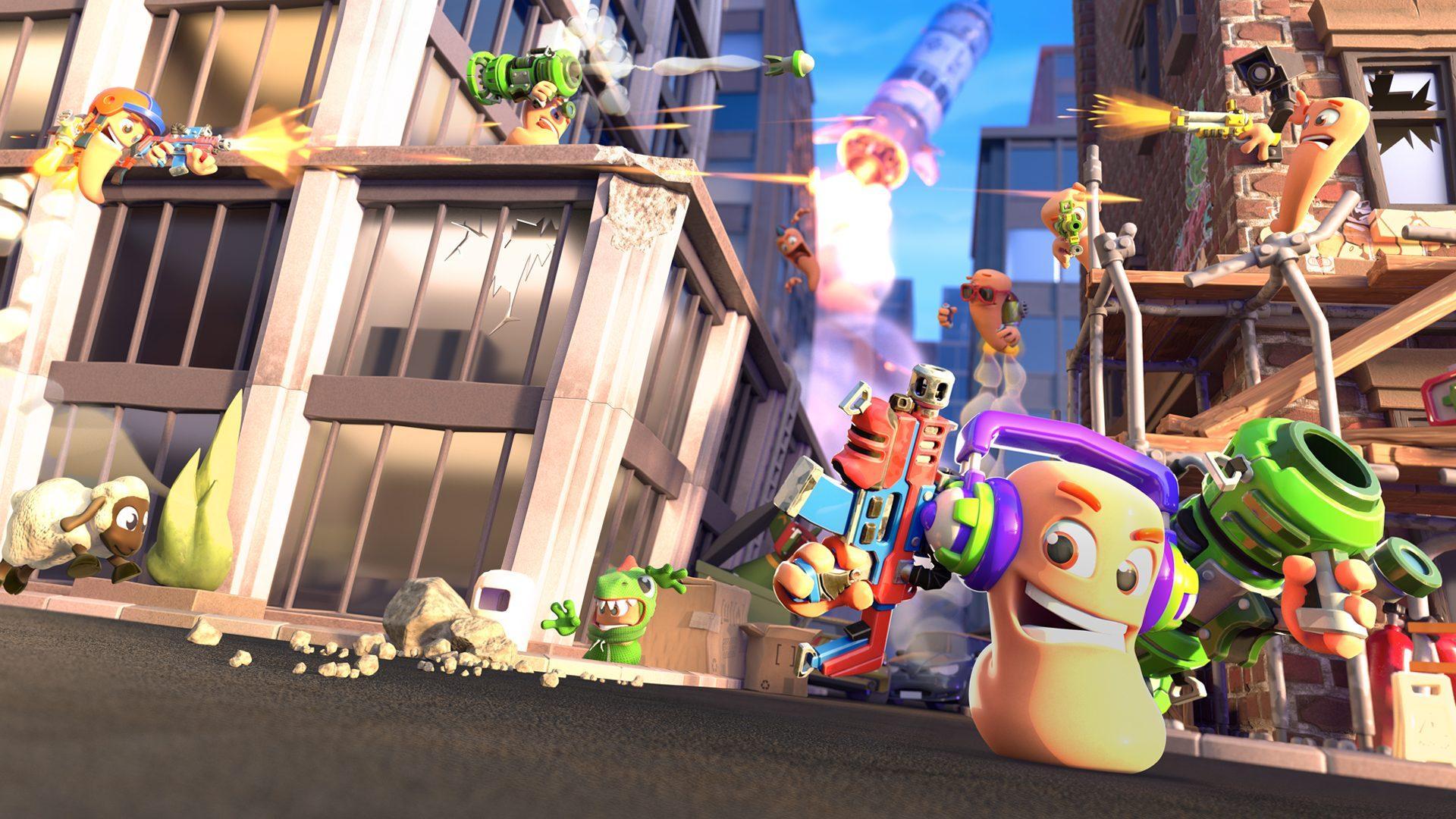 Worms Rumble выйдет на Nintendo Switch 2