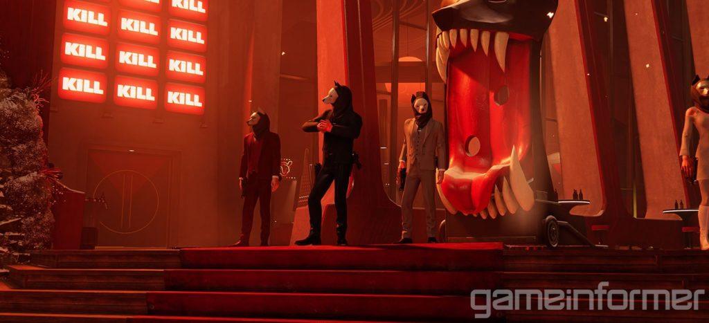 Яркие краски и противники в масках - свежие скриншоты и арты Deathloop 2