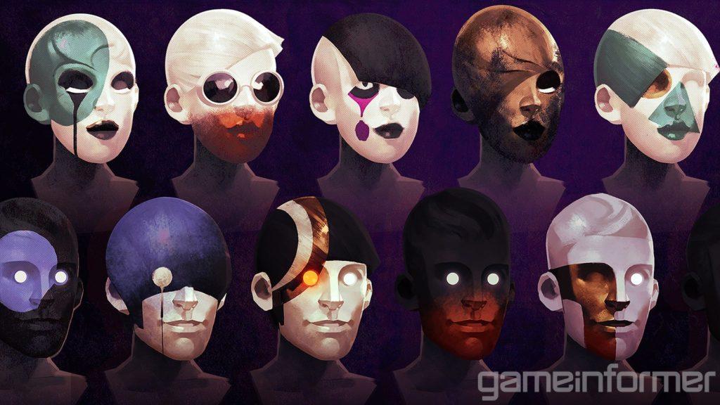 Яркие краски и противники в масках - свежие скриншоты и арты Deathloop 5