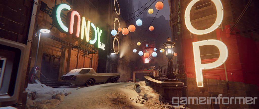 Яркие краски и противники в масках - свежие скриншоты и арты Deathloop 11