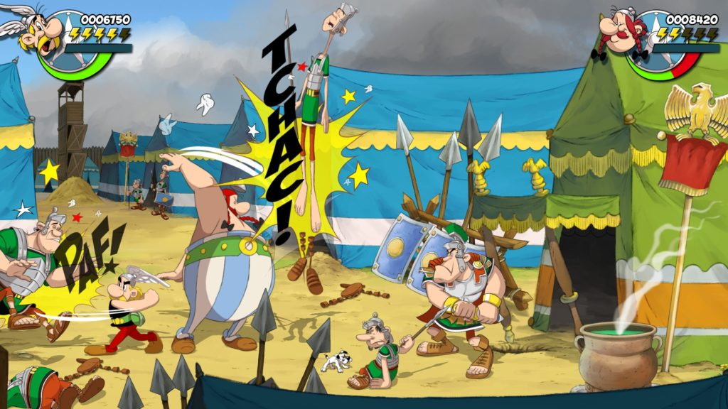 Издательство Microids анонсировали битэмап Asterix & Obelix: Slap them All! 3