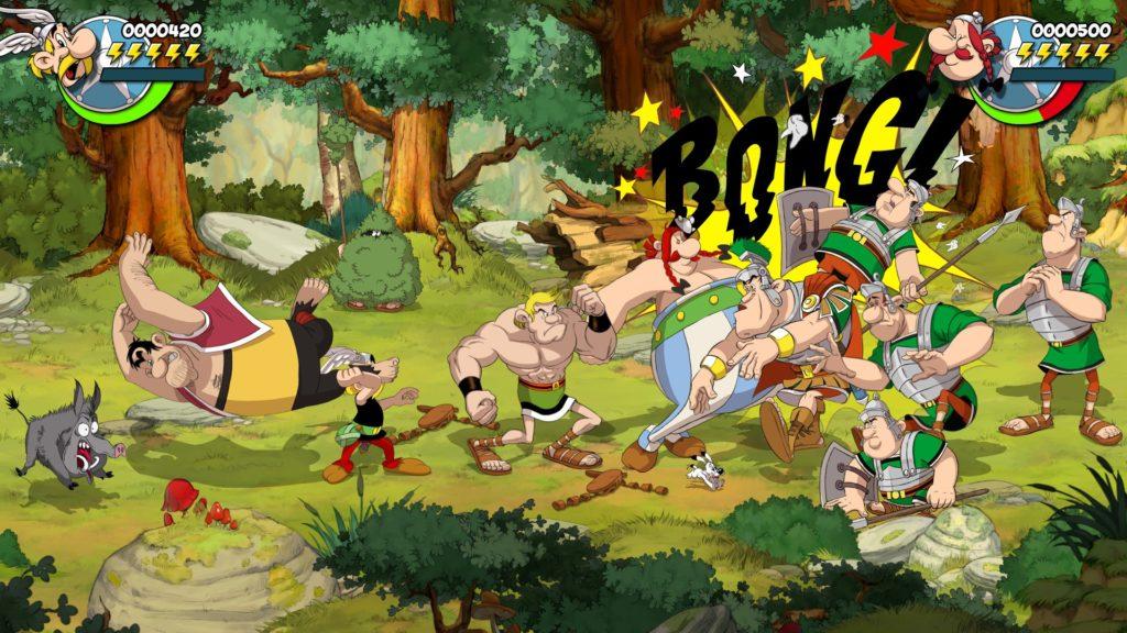 Издательство Microids анонсировали битэмап Asterix & Obelix: Slap them All! 1