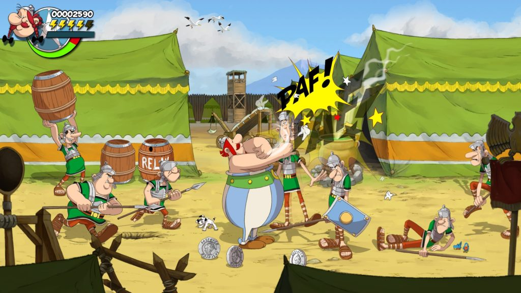 Издательство Microids анонсировали битэмап Asterix & Obelix: Slap them All! 2