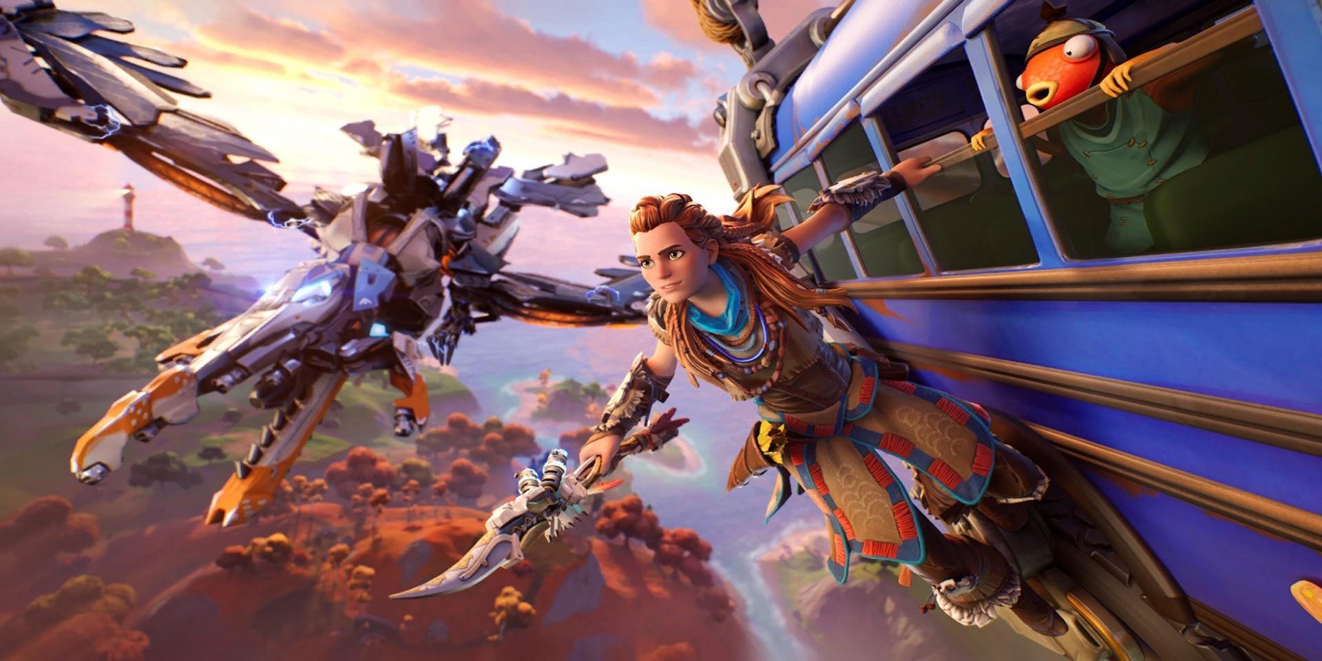 Fortnite – на этой неделе в игре появится Элой из Horizon Zero Dawn 5