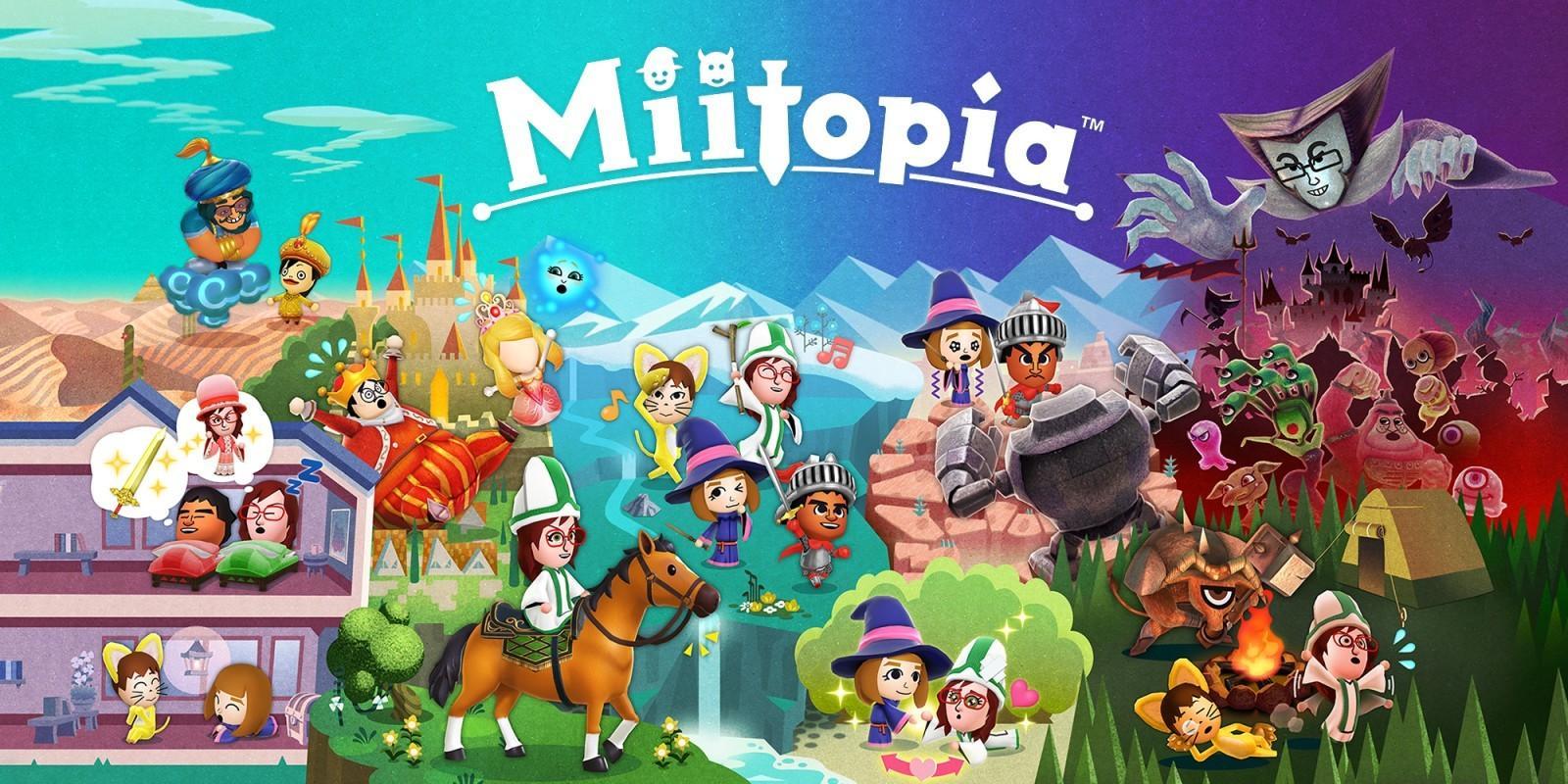 Свежий трейлер Miitopia — Mii, вы и все-все-все! 2