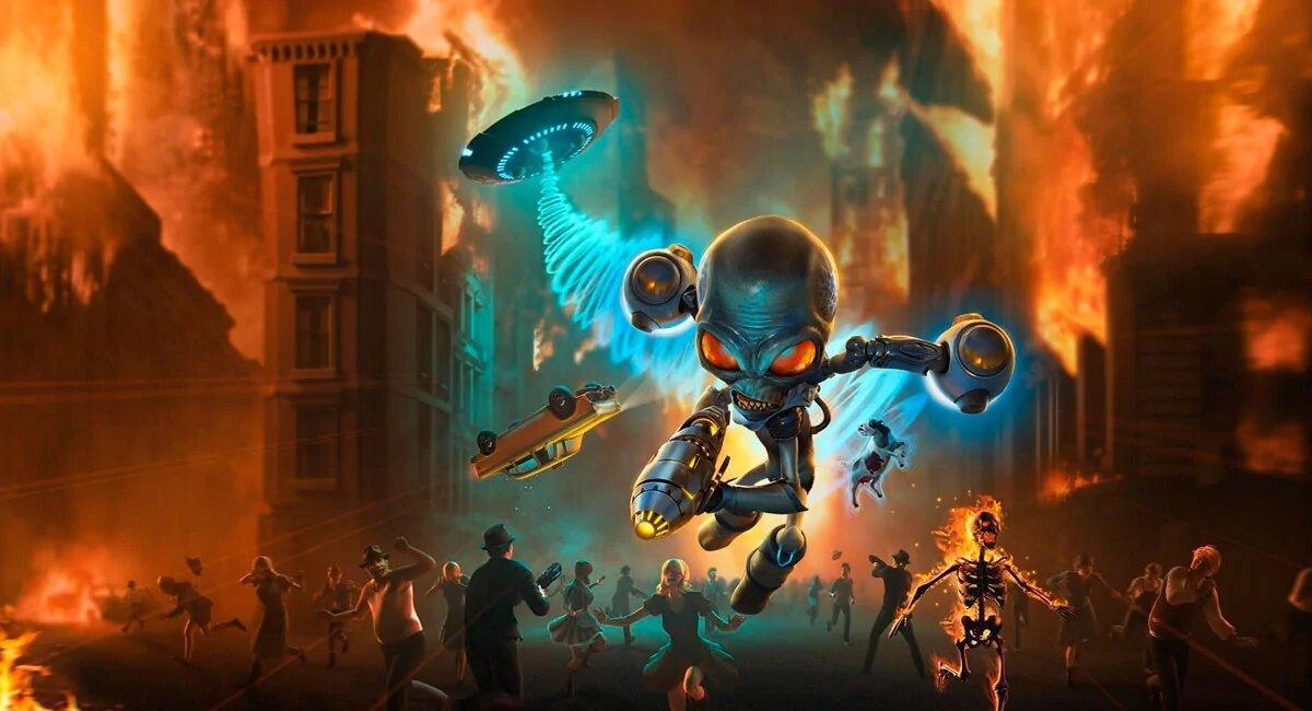 Destroy All Humans! выйдет на Nintendo Switch - 29 июня 2021-го 2