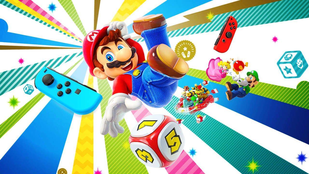 Неожиданно, Super Mario Party получила обновление с мультиплеером 2