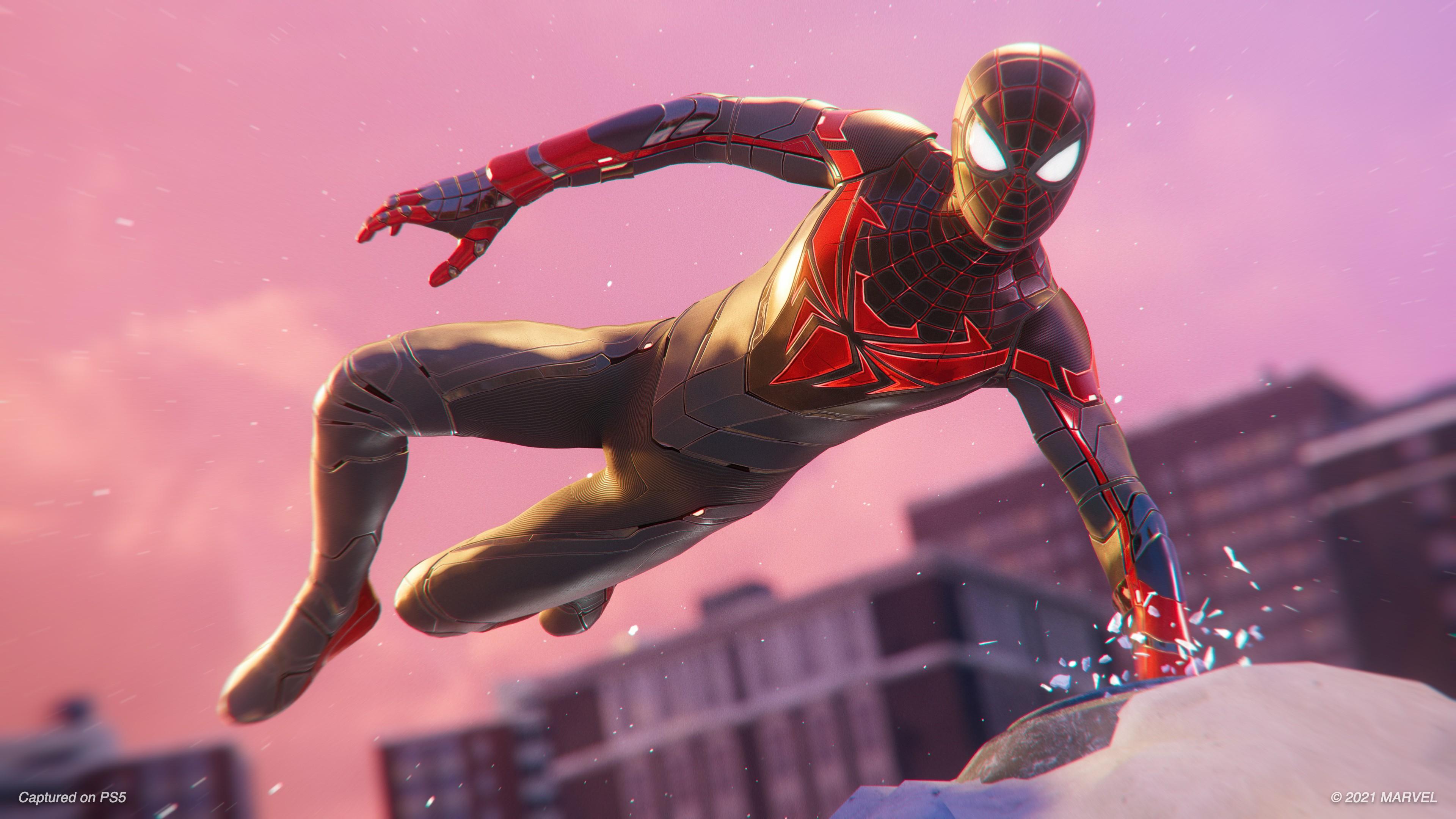 В Marvel's Spider-Man: Miles Morales добавили реалистичную деформацию мышц и новый костюм 2