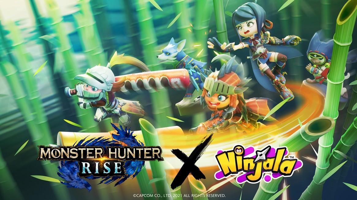 Разработчики Ninjala объявили о коллаборации с Monster Hunter Rise 2