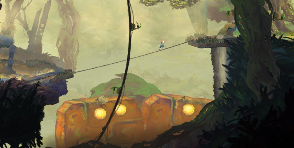 Рисованный платформер-головоломка Out of Line выйдет на Nintendo Switch этим летом 5