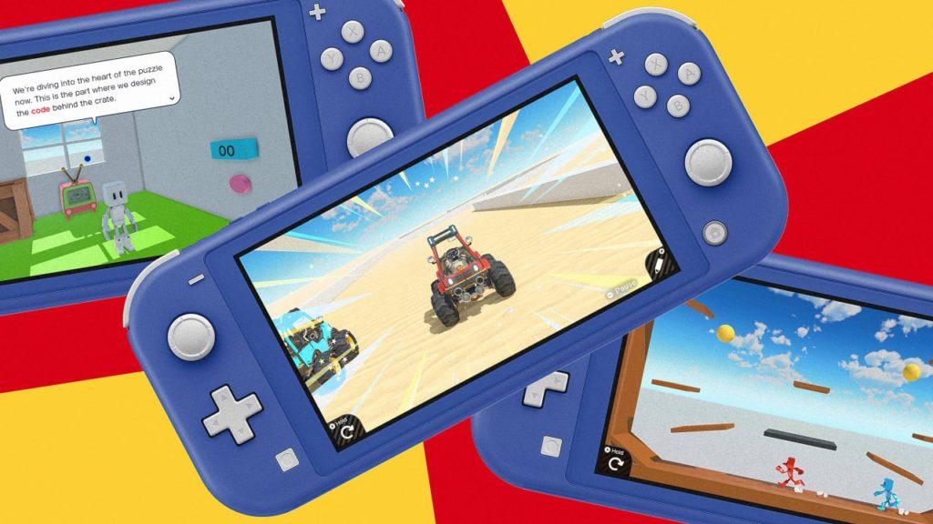 Программируем весело - Nintendo анонсировала Game Builder Garage 3