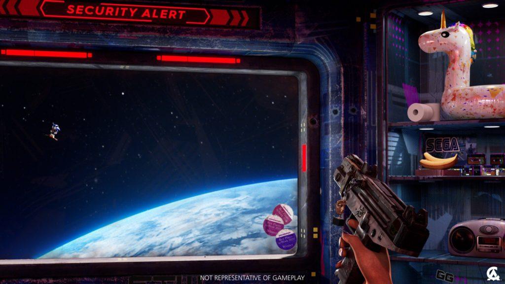 Похоже, Creative Assembly работает на тематическим FPS шутером по истории Sega, разработчики опубликовали первый скриншот 1