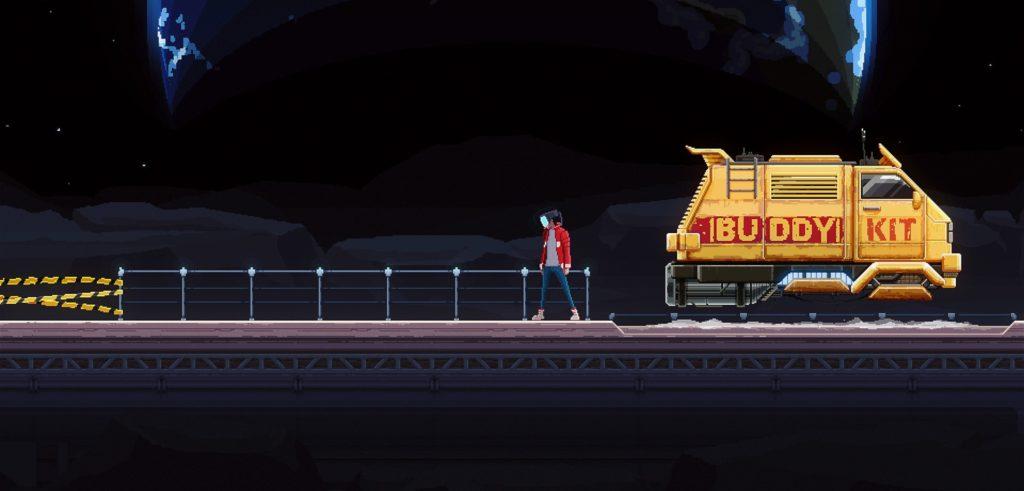 Moon Samurai - экшен-приключение в сеттинге киберпанка выйдет на Nintendo Switch 1
