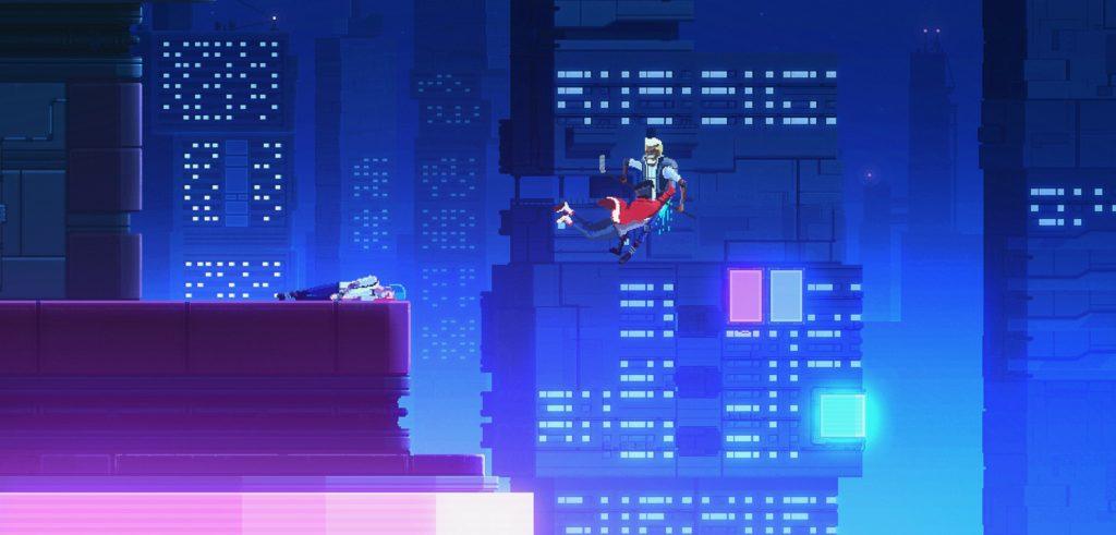 Moon Samurai - экшен-приключение в сеттинге киберпанка выйдет на Nintendo Switch 4