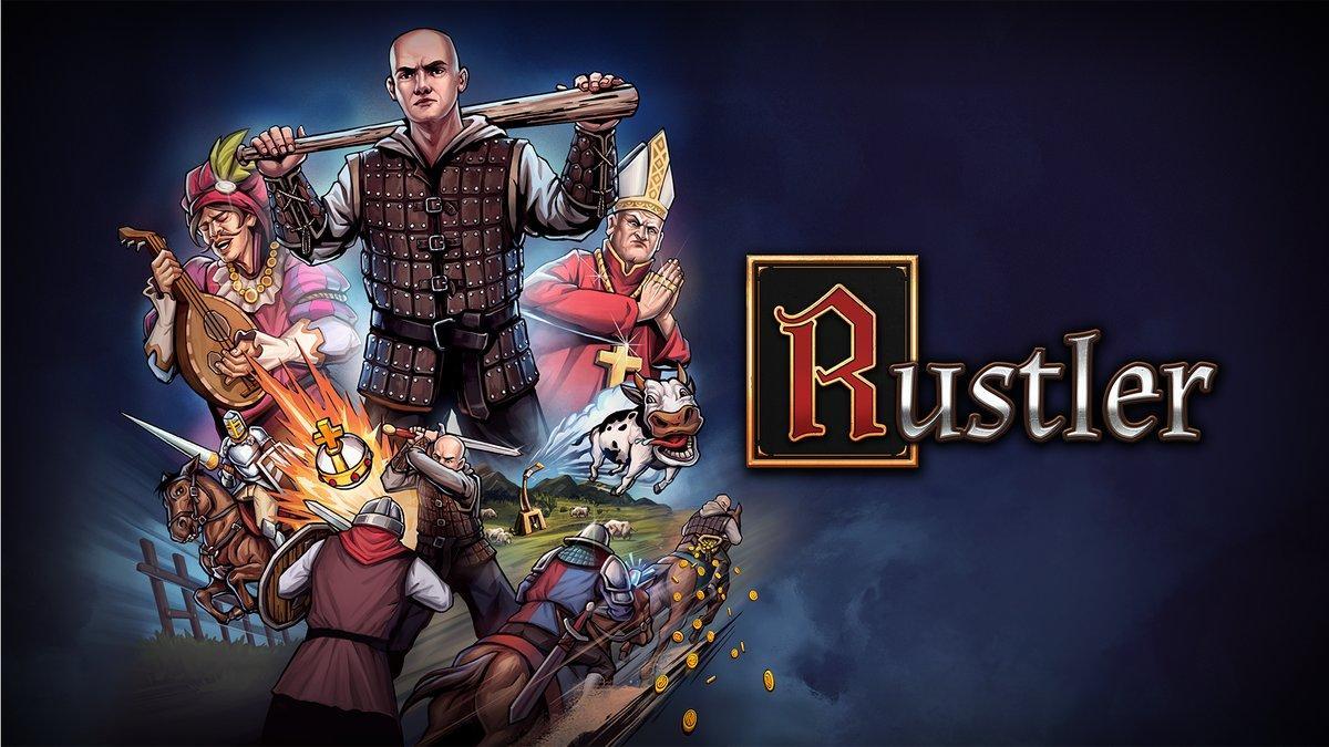 Готовься уделать всех на турнире, а попутно совершить несколько преступлений - Rustler обзавёлся датой релиза 2
