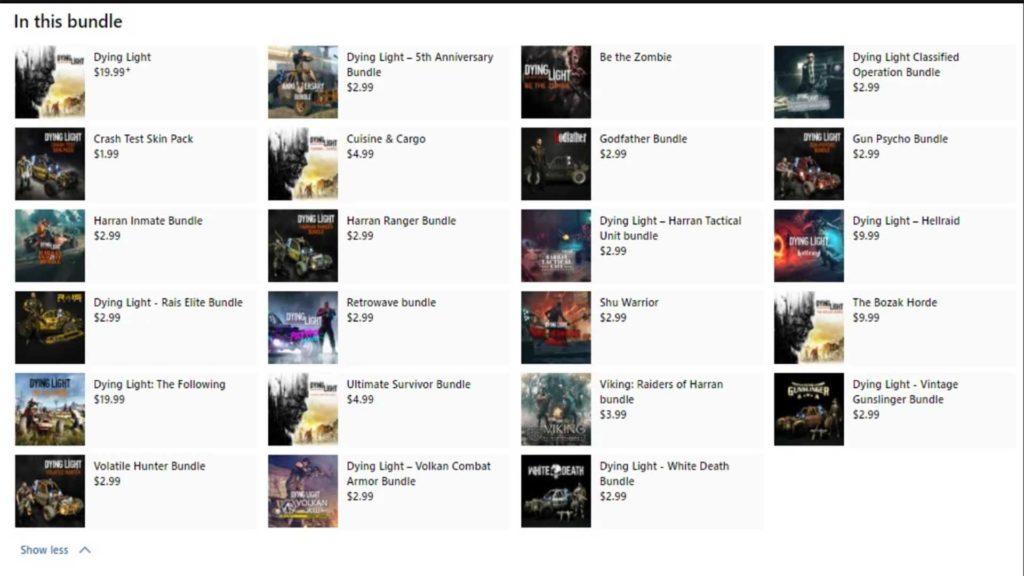 В Microsoft Store засветилась Dying Light: Platinum Edition 1