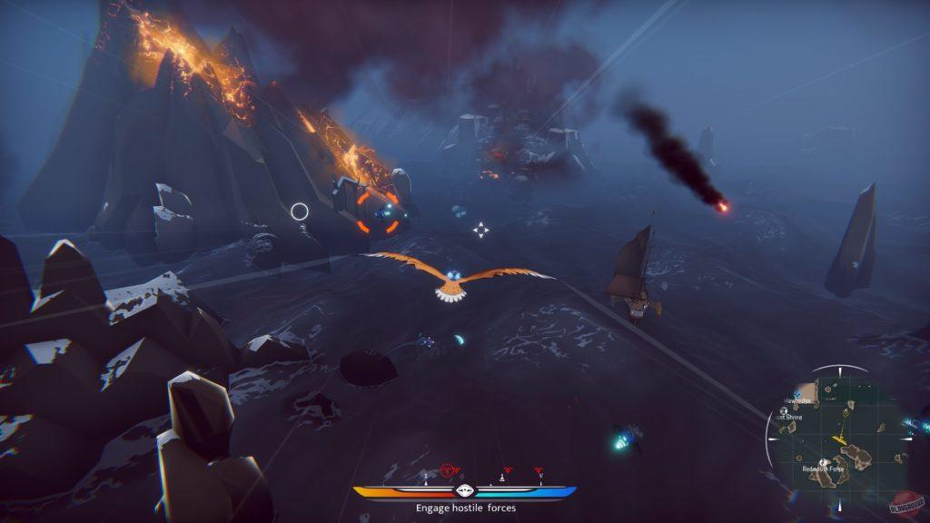 Водный мир, огромные птицы и воздушные баталии - The Falconeer: Warrior Edition выйдет на Nintendo Switch и консолях PlayStation 1