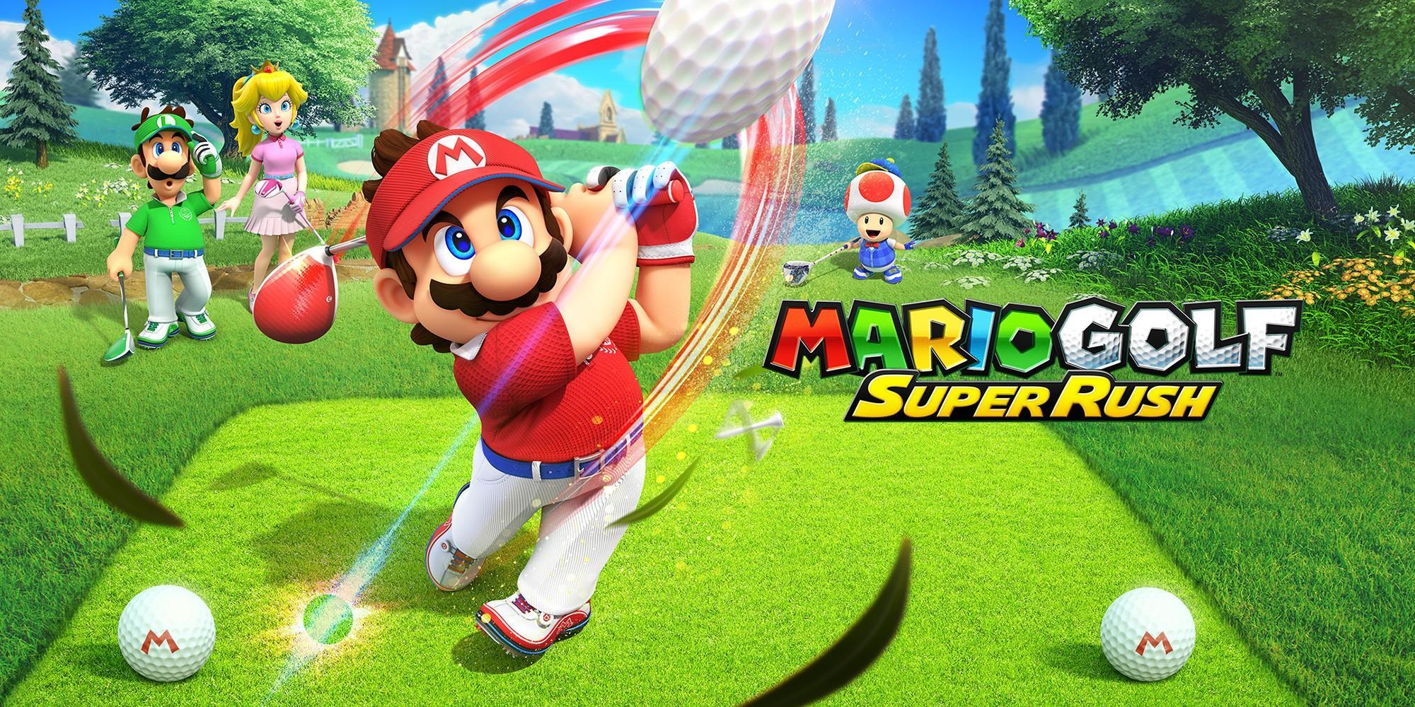 Стали известны играбельные персонажи в Mario Golf: Super Rush 3